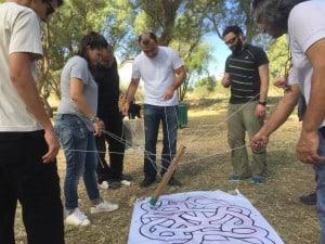 חשיבה יצירתית עם פעילות גיבוש